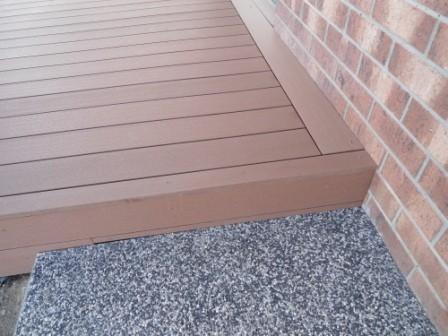 Wood Composite Deck Fancy Finish Hybrideck